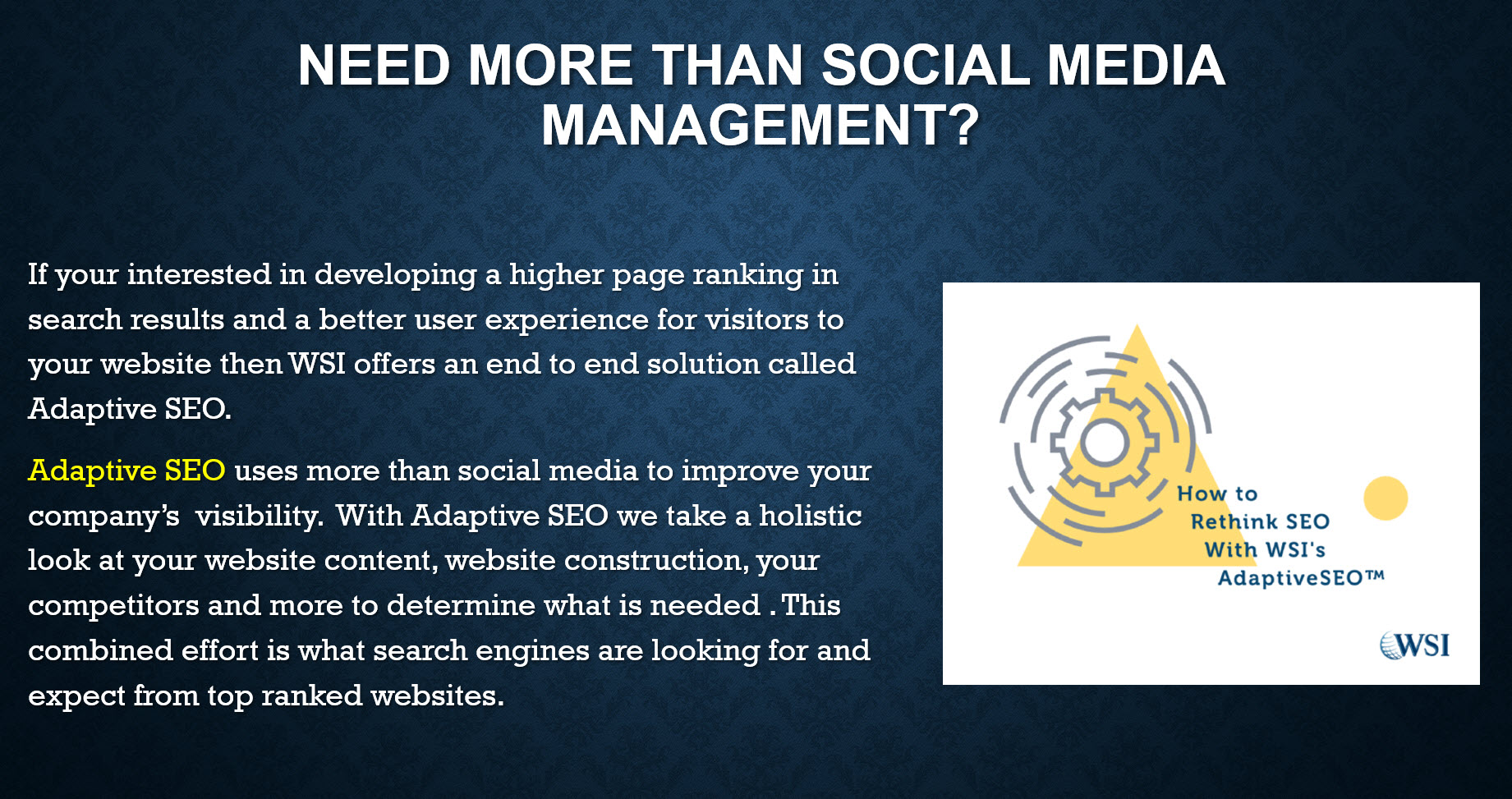 Adaptive marketing for senior living homes and facilities